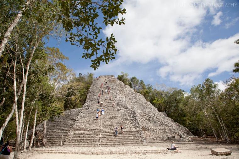 Coba Maya Ruin